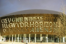 Picture of the Millenium Centre in Cardiff
