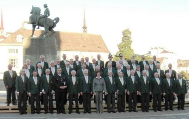 Picture of Hereford Police Male Choir in Zurich