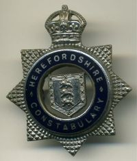 Picture of Herefordshire Constabulary cap badge