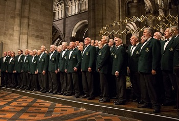 Picture of Hereford Police Male Choir performing